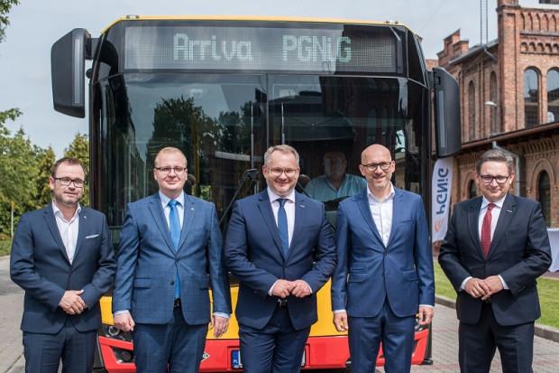 PGNiG Obrót Detaliczny z umową na dostawy CNG dla Arriva Bus Transport Polska