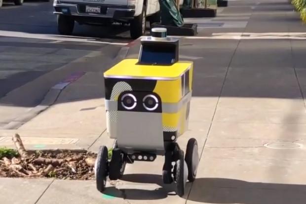 Roboty dostawcze Postmates ze zgodą na testy w San Francisco