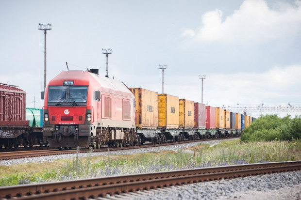 Spadek przewozów cargo kolejowego na Litwie