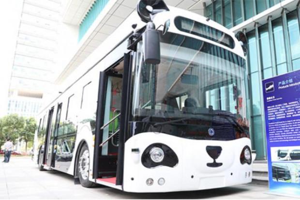 Autonomicze autobusy-pandy wyjadą z Chin