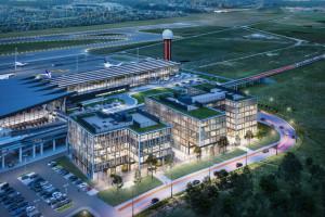 Cała inwestycja Airport City zaoferuje około 120 tys. m. kw. powierzchni użytkowej i około 100 tys. m.kw. powierzchni najmu.