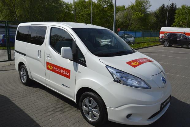 Poczta Polska wybrała elektryczne Nissany