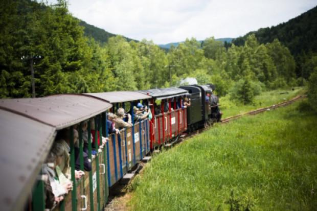 Ciuchcie wąskotorowe pozwalają zachować dziedzictwo kolei