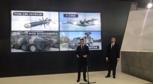 Polska chce kupić pociski przeciwpancerne i samoloty od USA
