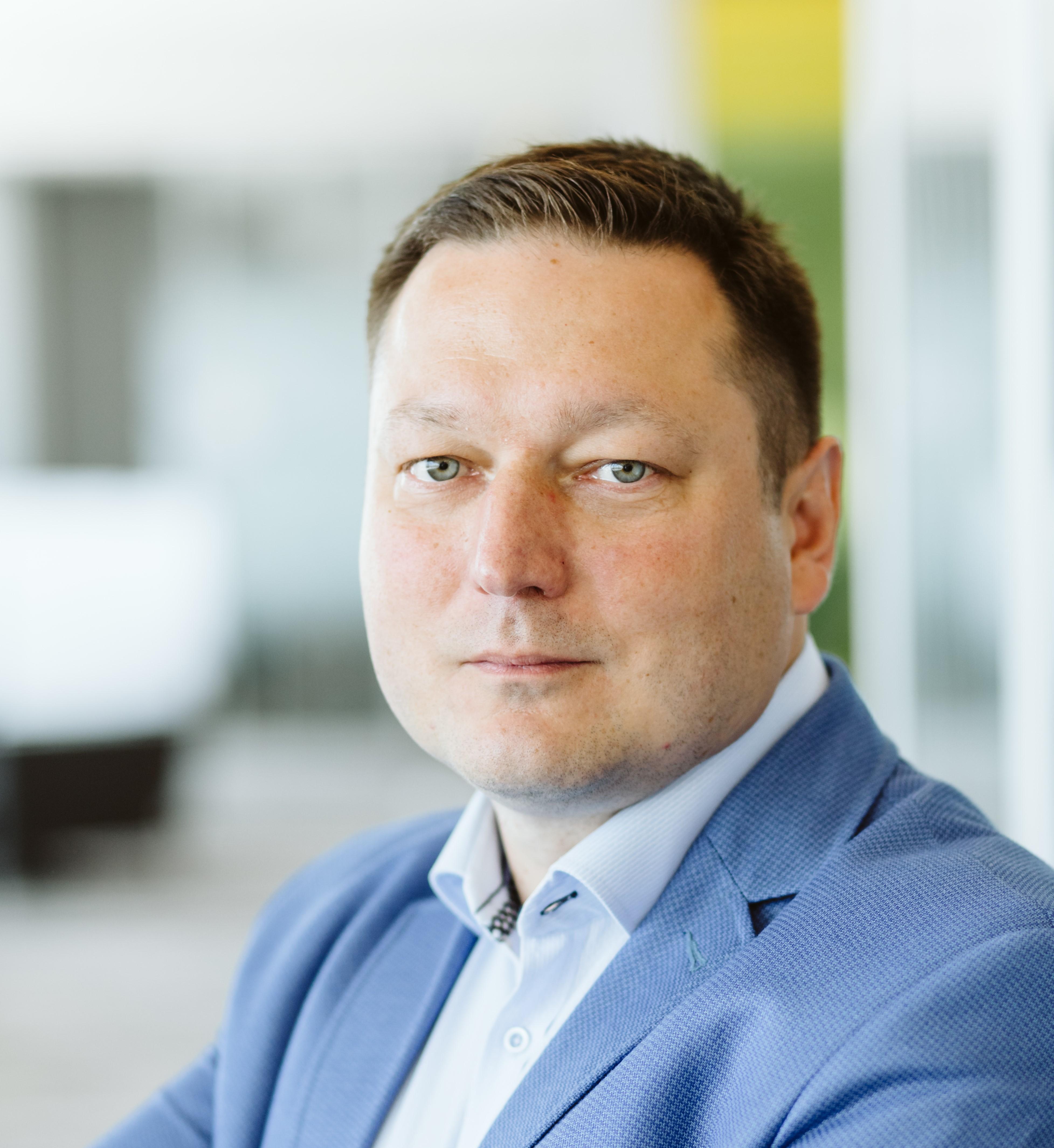 Łukasz Niesłuchowski, country sales director w Rockwell Automation