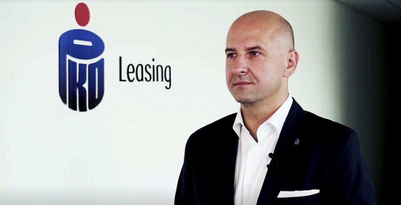 Paweł Pach, prezes PKO Leasing. Fot. PTWP