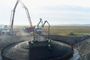 Zamiast kopalni Adamów powstaje farma wiatrowa Energi