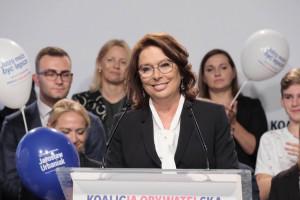 Kidawa Błońska obiecuje: 600 zł więcej miesięcznie i niższe składki ZUS