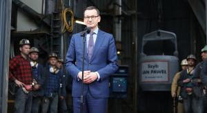 Premier Mateusz Morawiecki otworzył na Górnym Śląsku nową kopalnię węgla