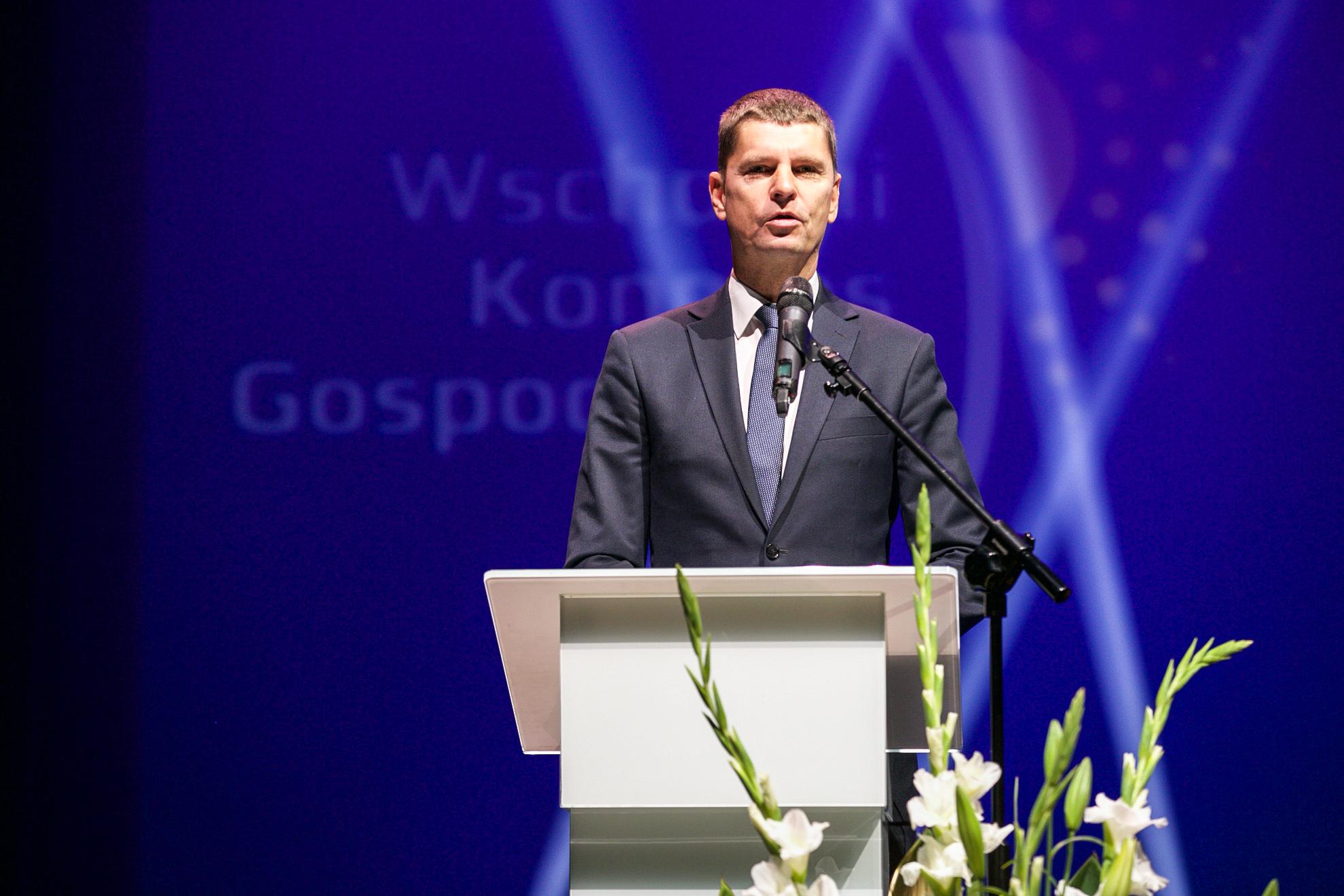 Minister edukacji narodowej Dariusz Piontkowski. Fot. (PTWP)