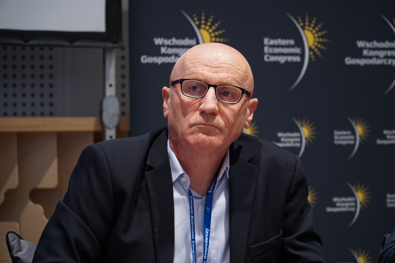 Dyrektor ds. public affairs Michelin Polska Grzegorz Wojasiński (Fot. PTWP)