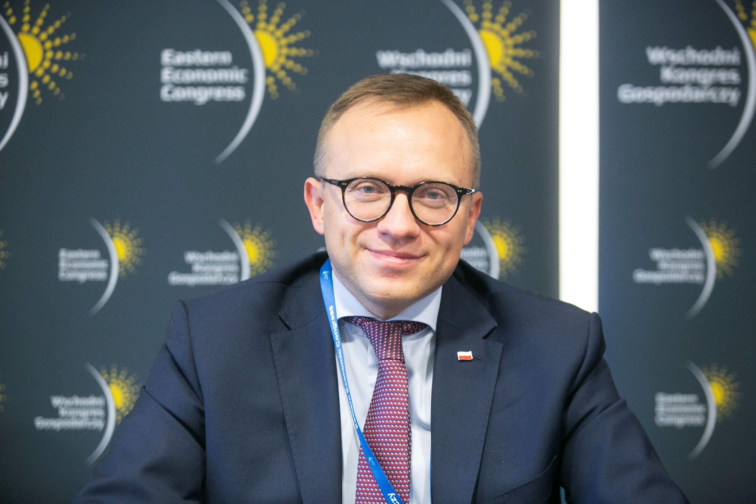 Artur Soboń, sekretarz stanu w Ministerstwie Inwestycji i Rozwoju (fot. PTWP/Paweł Pawłowski)