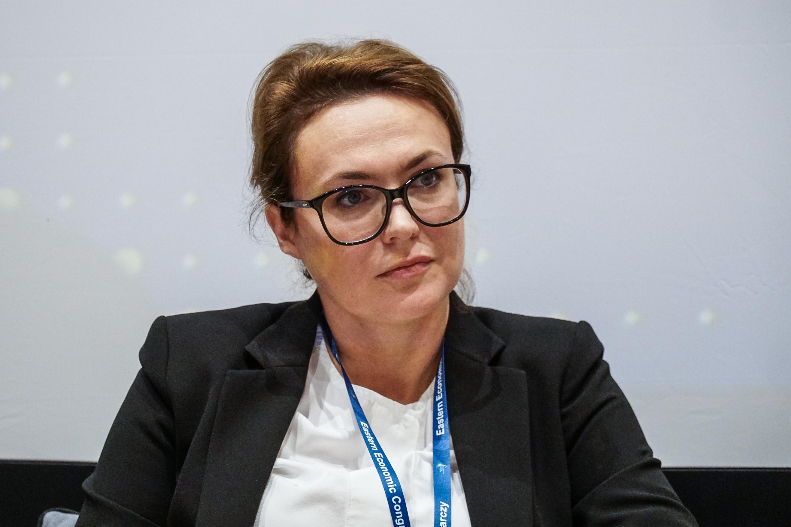 Katarzyna Nosalska zaznacza, że postęp techniczny będzie już tylko szybszy (fot. PTWP/Michał Oleksy)