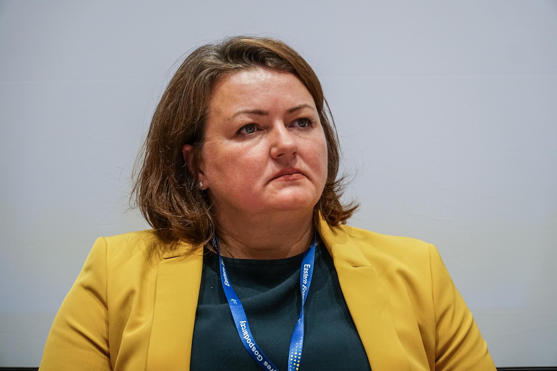 Eliza Pogorzelska uważa, że należy szczególnie stawiać na kształcenie trenerów propagujących umiejętności świata cyfrowego (fot. PTWP/Michał Oleksy)