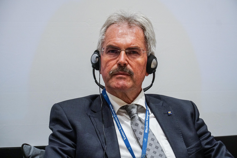 Karl Wilfing przekonuje, że w Austrii podchodzi się w usystematyzowany sposób do zagadnień związanych z cyfryzacją (fot. PTWP/Michał Oleksy)