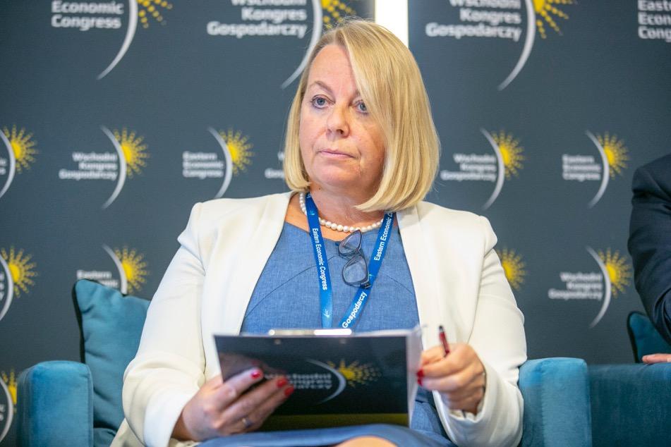Malgorzata Oleszczuk, prezes PARP (Fot. PTWP)