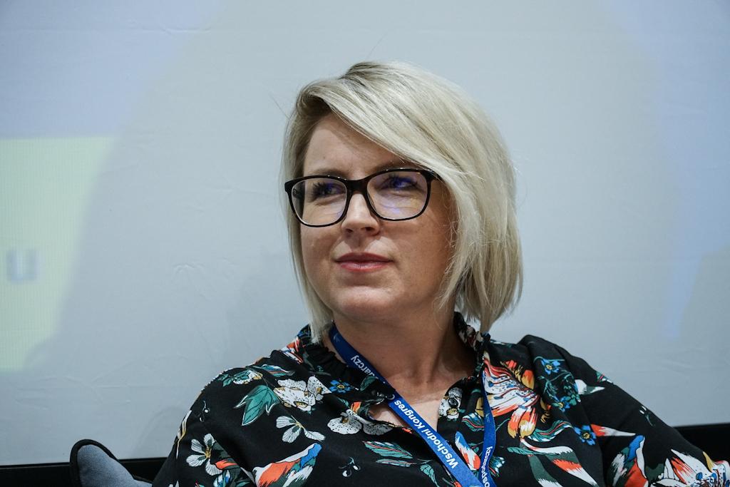 Anna Daszuta-Zalewska uważa, że twórcy start-upów powinni koncentrować się na szukaniu nisz rozwojowych (fot. PTWP / Michał Oleksy)