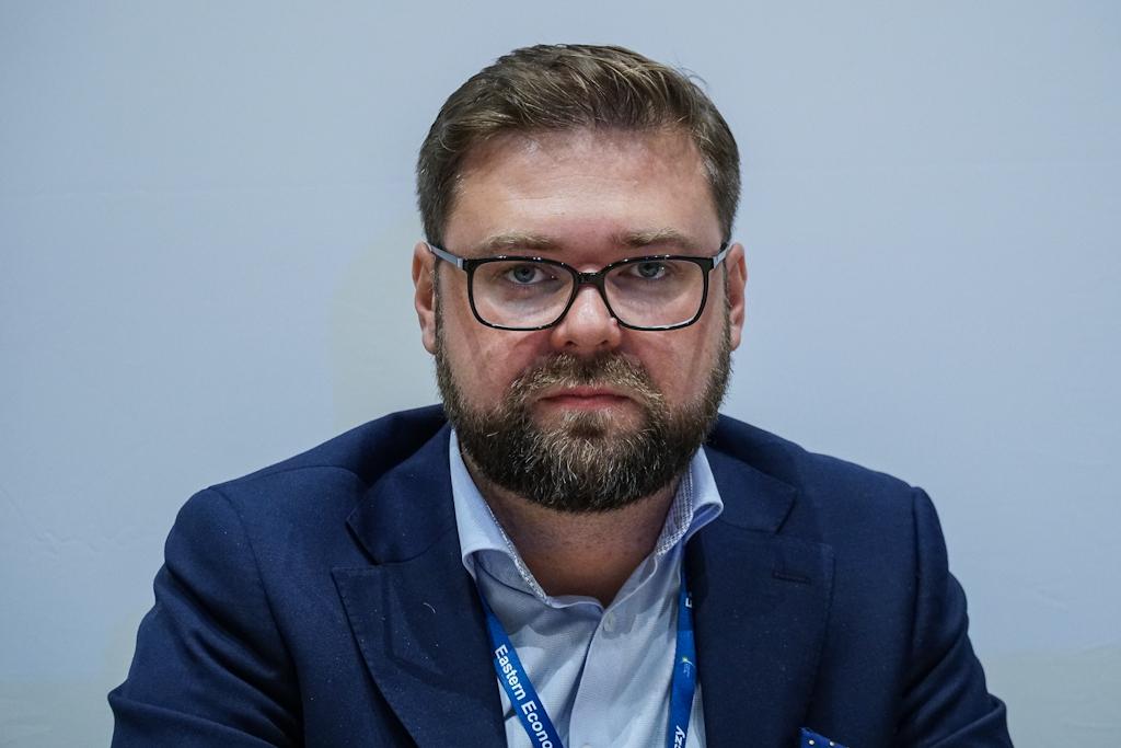 Paweł Pacek podkreśla, że start-upy muszą być ukierunkowanie na pozyskiwanie klientów (fot. PTWP / Michał Oleksy)