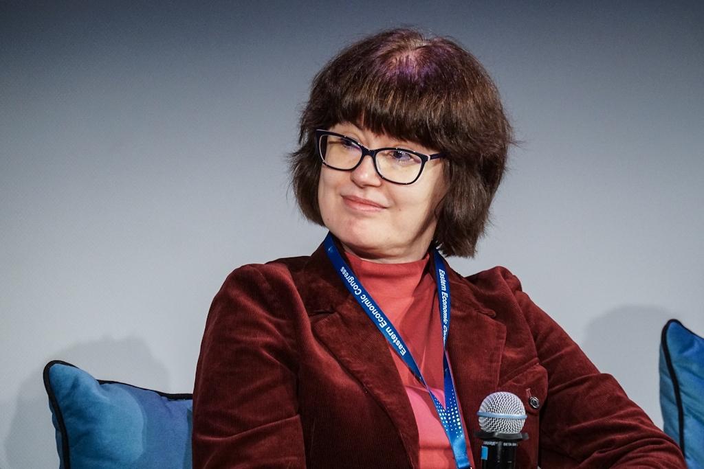 Dyrektor Katarzyna Michałowska-Knap, koordynator zespołu ds. energetyki wiatrowej Instytutu Energetyki Odnawialnej (fot. PTWP)