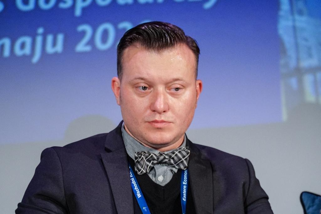Pełnomocnik Marszałka Województwa Podlaskiego ds. OZE Krzysztof Jan Stawnicki (Fot. PTWP)