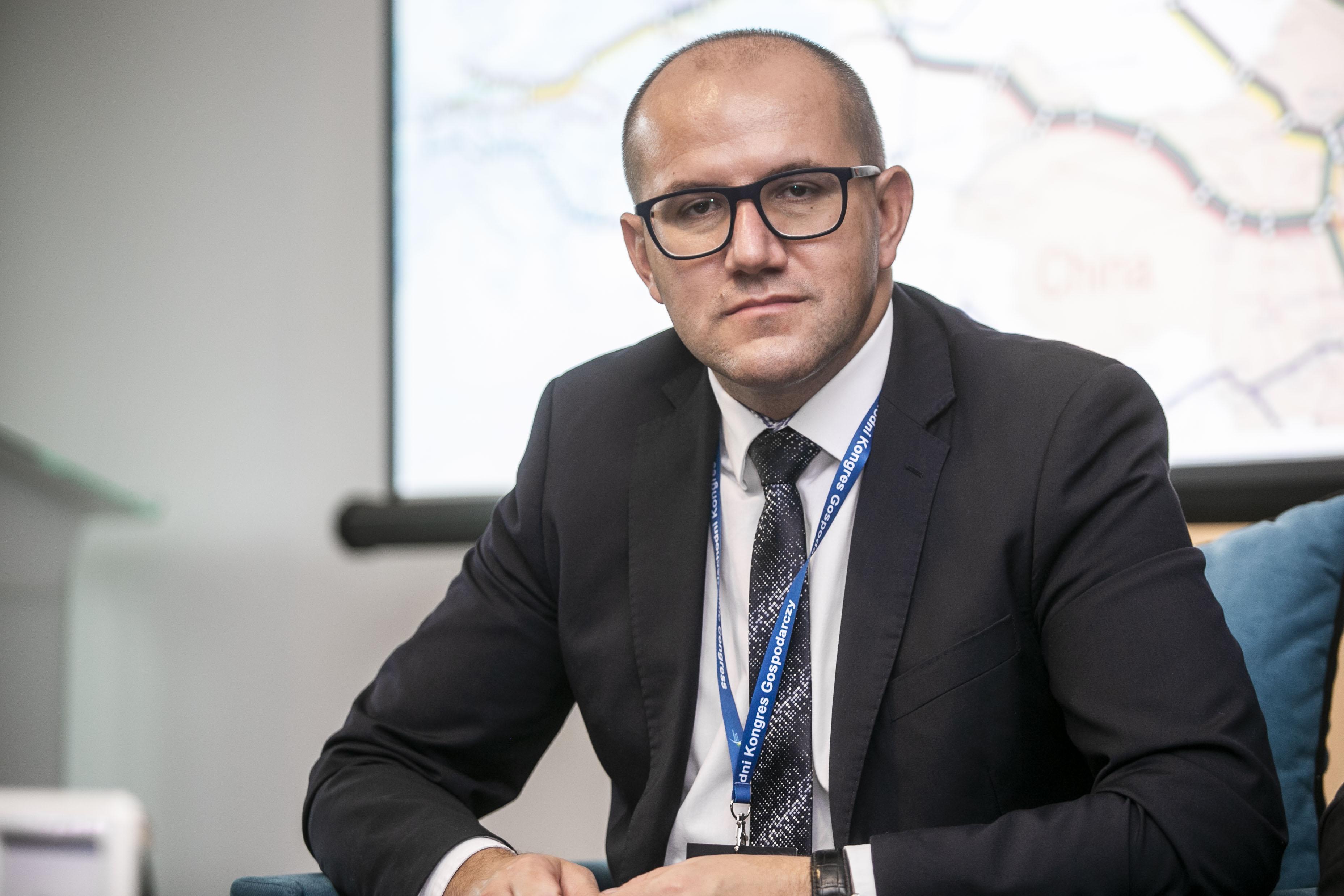 Tomasz Żuchowski, p.o. generalnego dyrektora Dróg Krajowych i Autostrad.