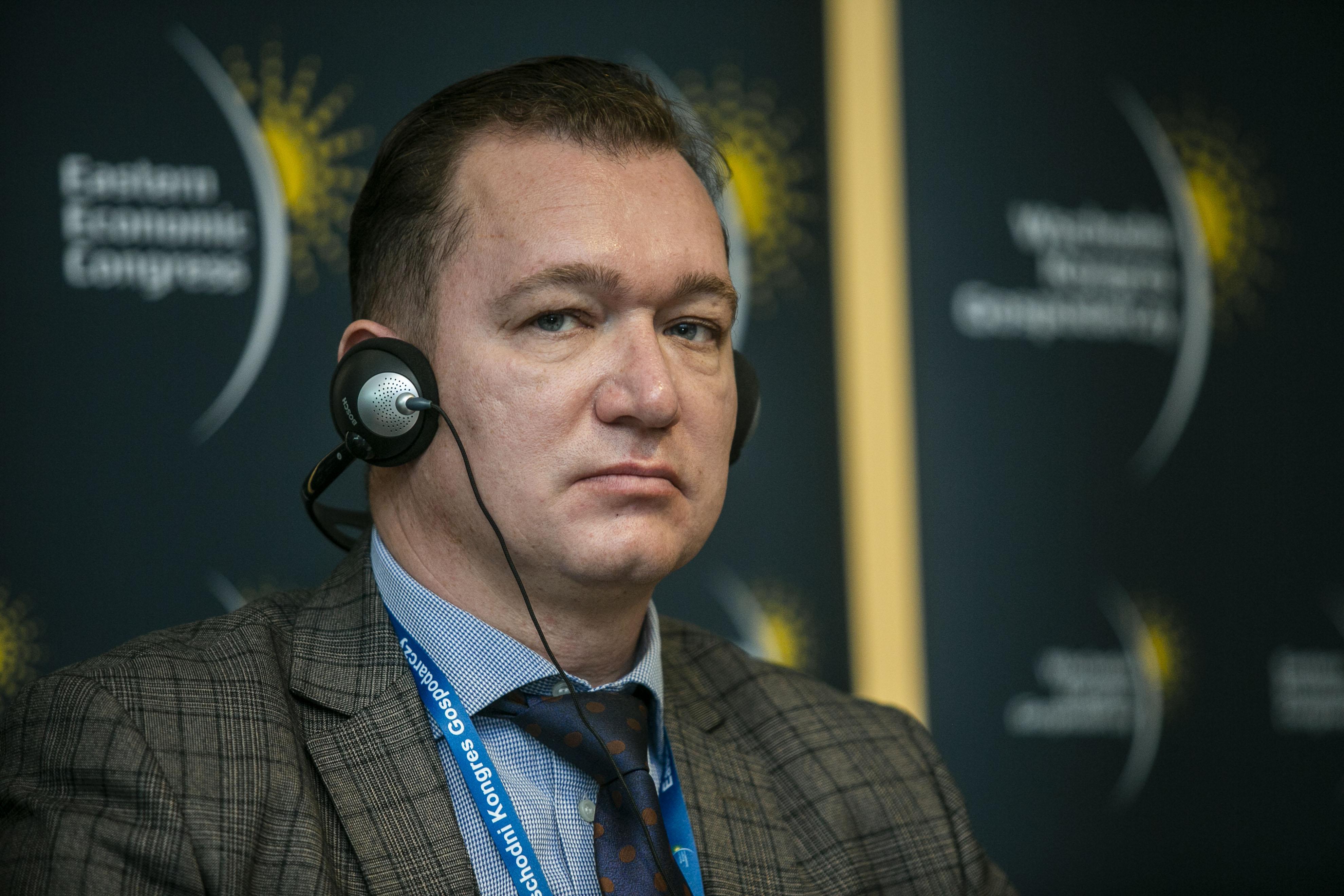 Dmitrij Borysowicz Rożkow, zastępca szefa administracji w Wolnej Strefie Ekonomicznej GrodnoInvest.