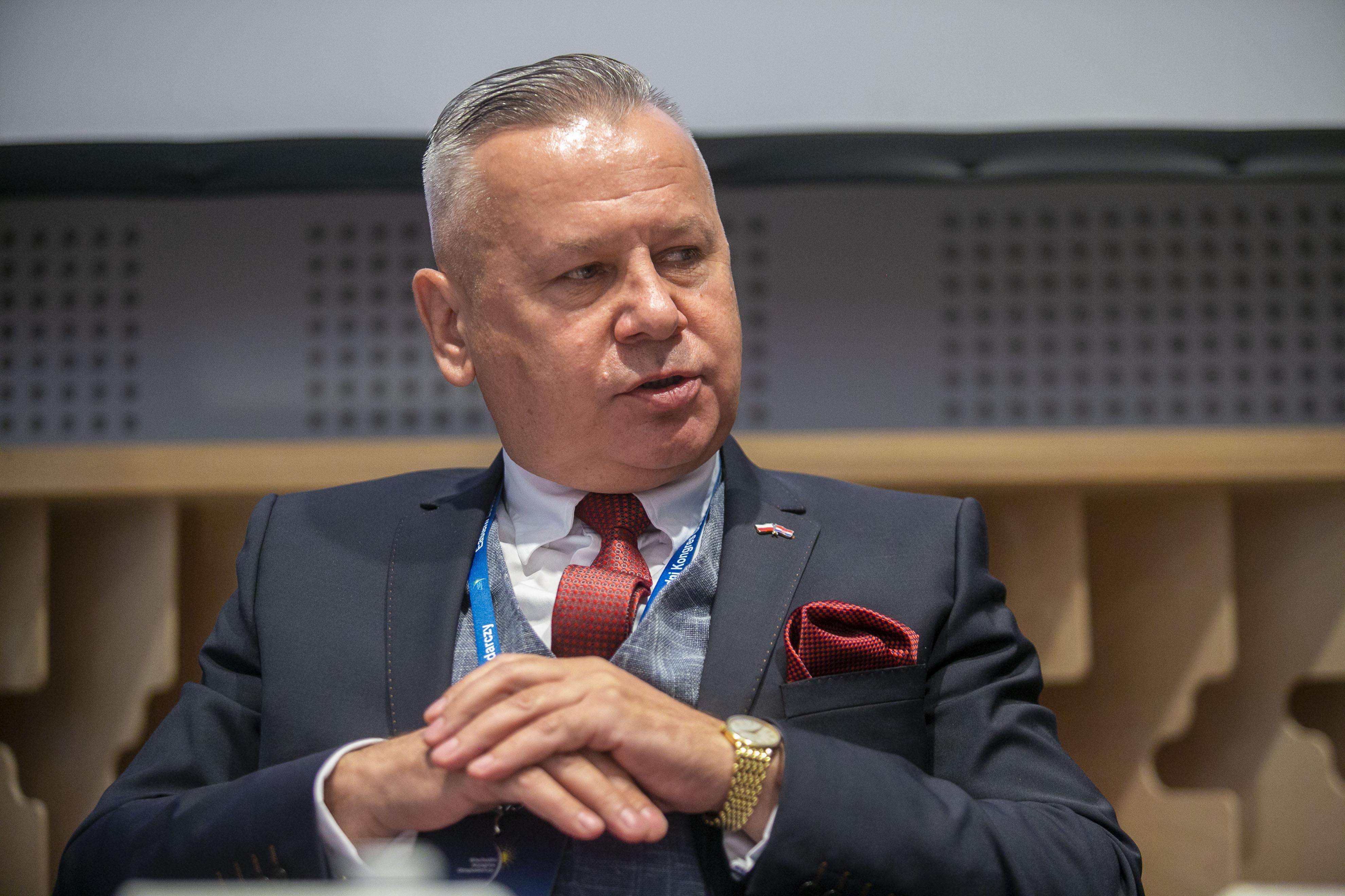 Wojciech Strzałkowski, przewodniczący Podlaskiej Rady Gospodarczej (Fot. PTWP)