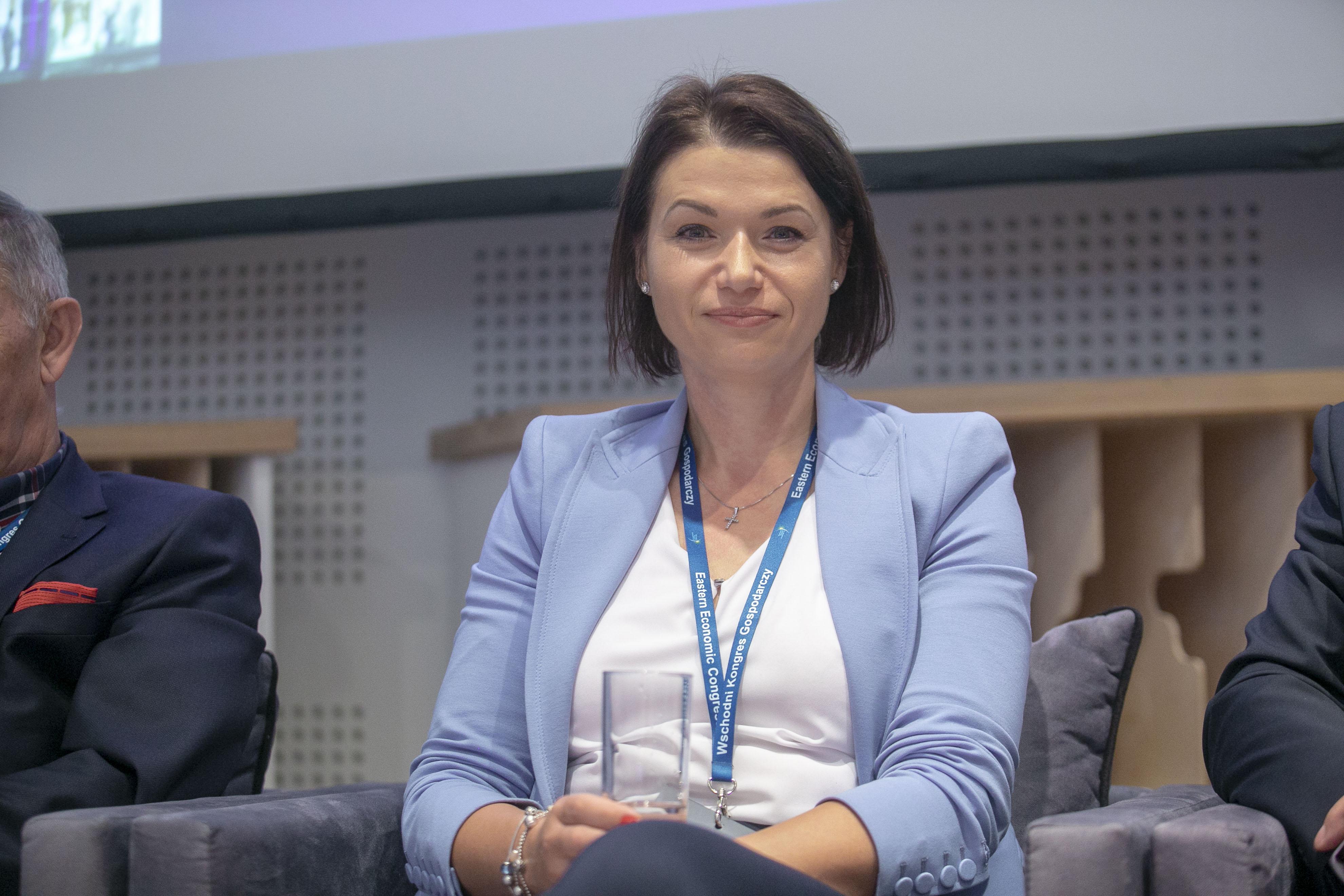 Katarzyna Rutkowska, prezes spółki AC w Białymstoku (Fot. PTWP)