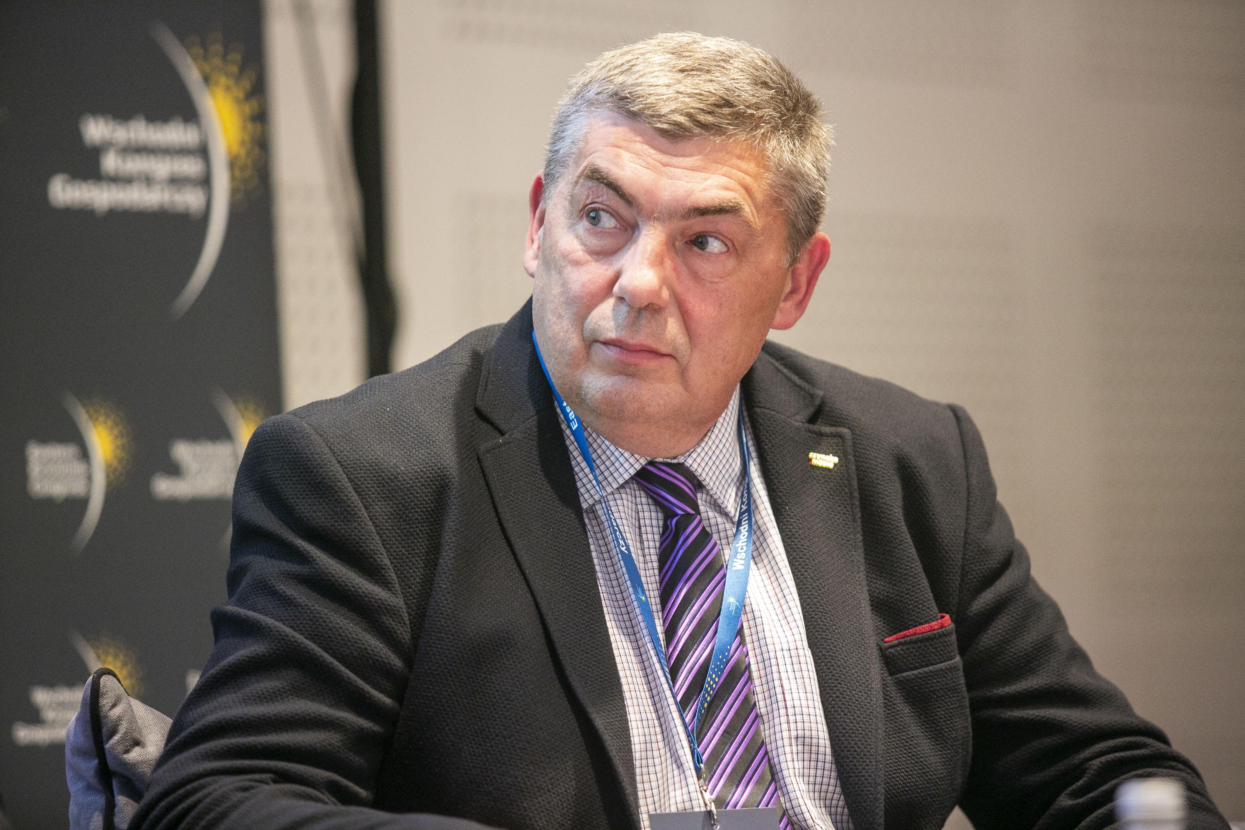 Wiktor Tichanowicz, dyrektor Szynaka Mebel Bel (Fot. PTWP)