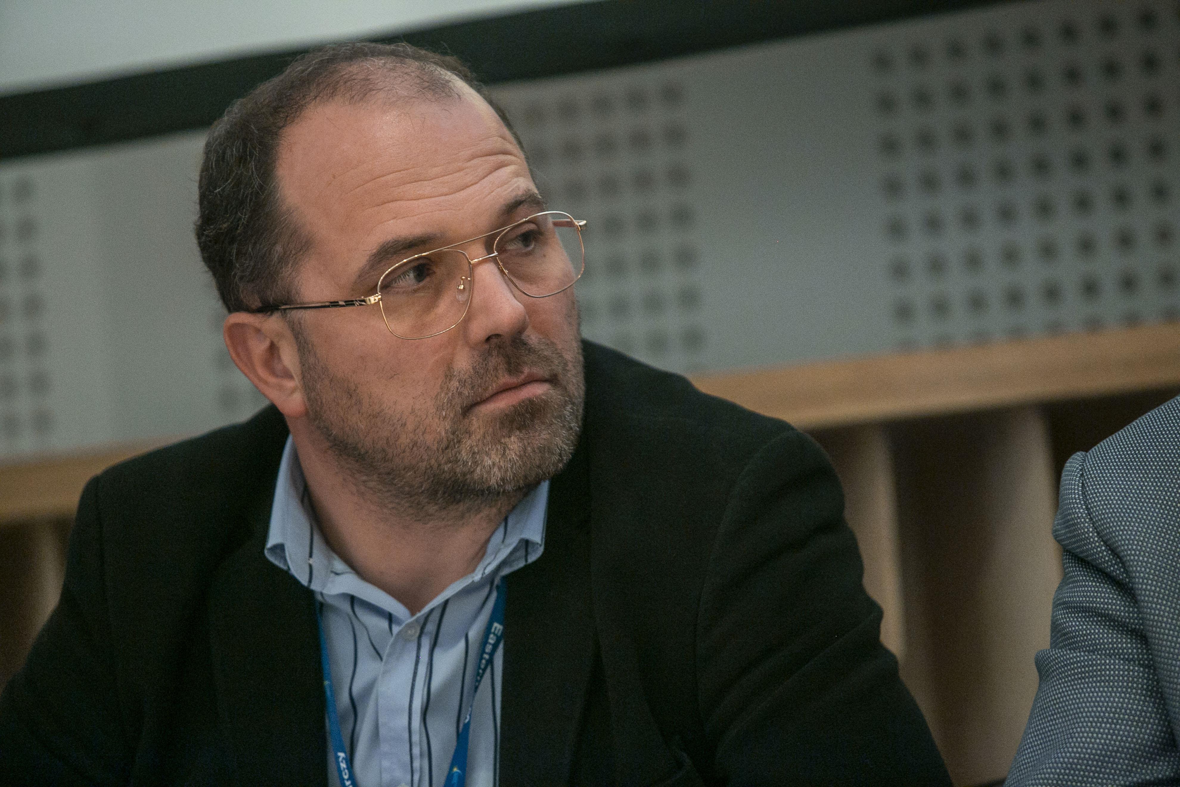 AdamKaminski, koordynator klastra InfoTech: IT jest horyzontalną specjalizacją, która będzie wykorzystywana we wszystkich branżach. To jest, moim zdaniem, przyszłość Białegostoku (Fot. PTWP Marek Misiurewicz)