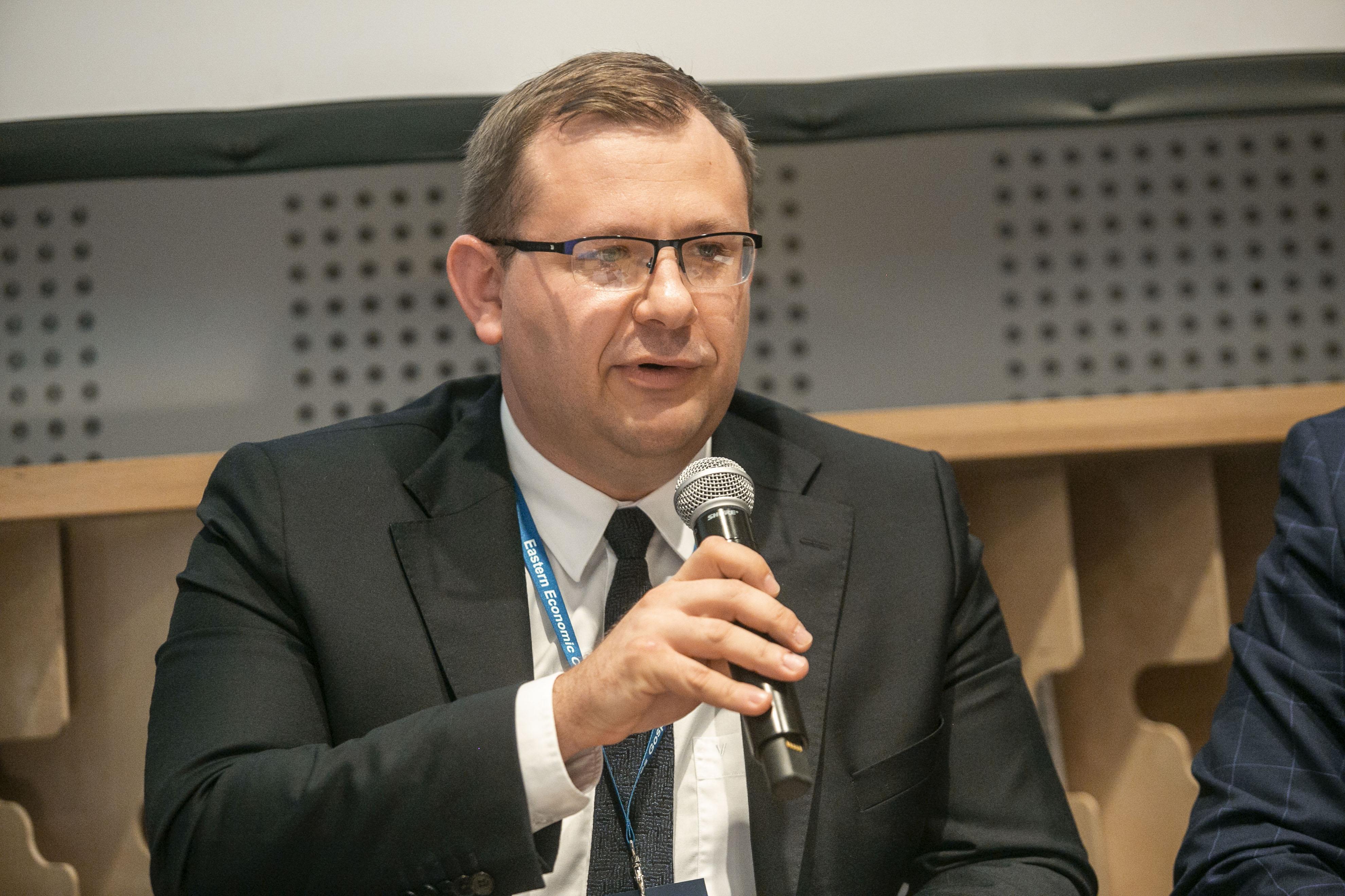 Łukasz Skłodowski, prezes, Elastic Cloud Solutions: Samo posiadanie wynalazku jeszcze nic nie daje, trzeba o nim odpowiedni zakomunikować (fot. PTWP, Marek Misiurewicz)