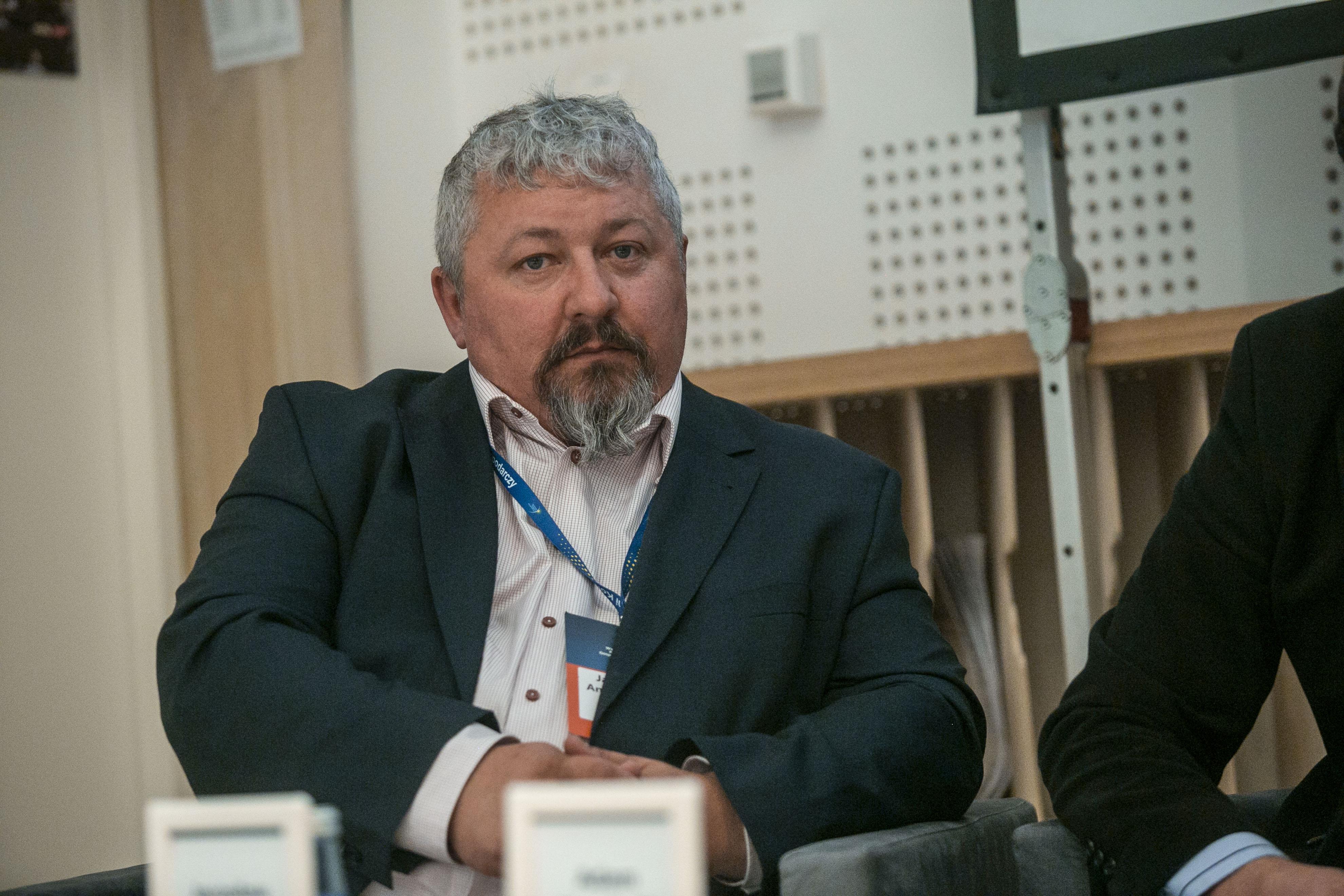 Jaroslaw Antychowicz, prezes Infinity Group: Zbudowanie ekosystemu, gdzie jest wielu programistów jest ważne, ale nie najważniejsze. Trzeba zbudować ekosystem, który będzie wspierał przedsiębiorczość. (fot. PTWP, Marek Misiurewicz)