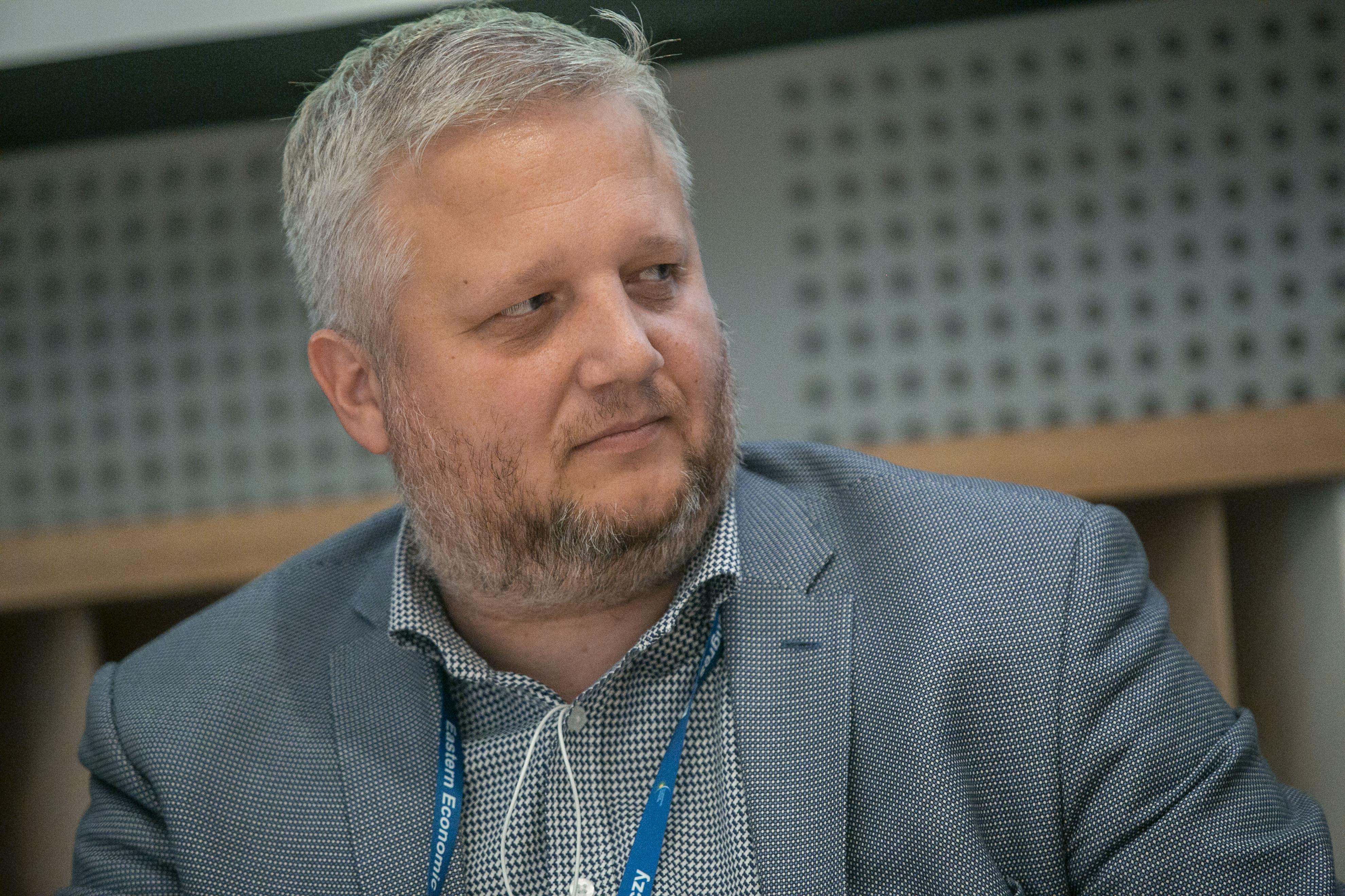 AdamLawicki: prezes White Hill: IT ma to do siebie, że może swoje usługi sprzedawać na całym świecie. Nie ma problemu, żeby dotrzeć nawet do najodleglejszego zakątka. (fot. PTWP, Marek Misiurewicz)