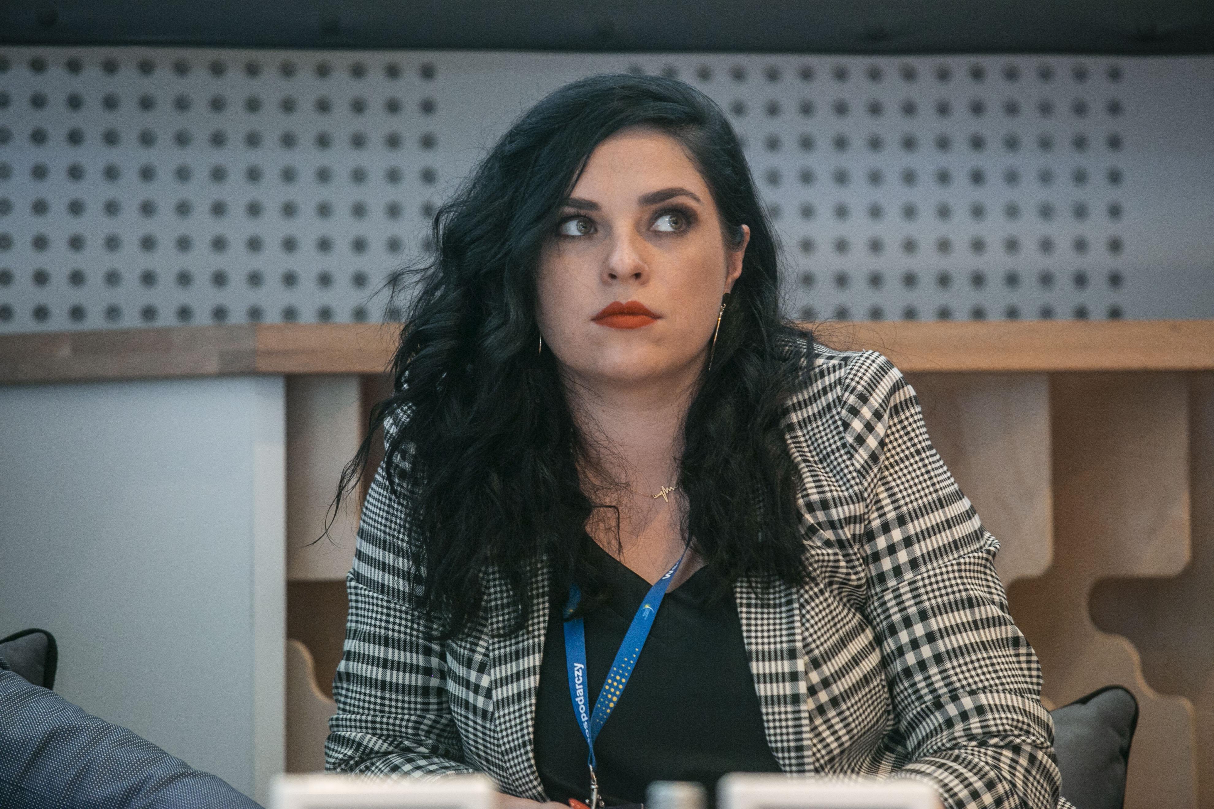 Marta Molska, Co-Founder i partner, DO IT crew: jeśli się nie przebijamy z informacją, to nie ma szans na sukces. (Fot. PTWP, Marek Misiurewicz)
