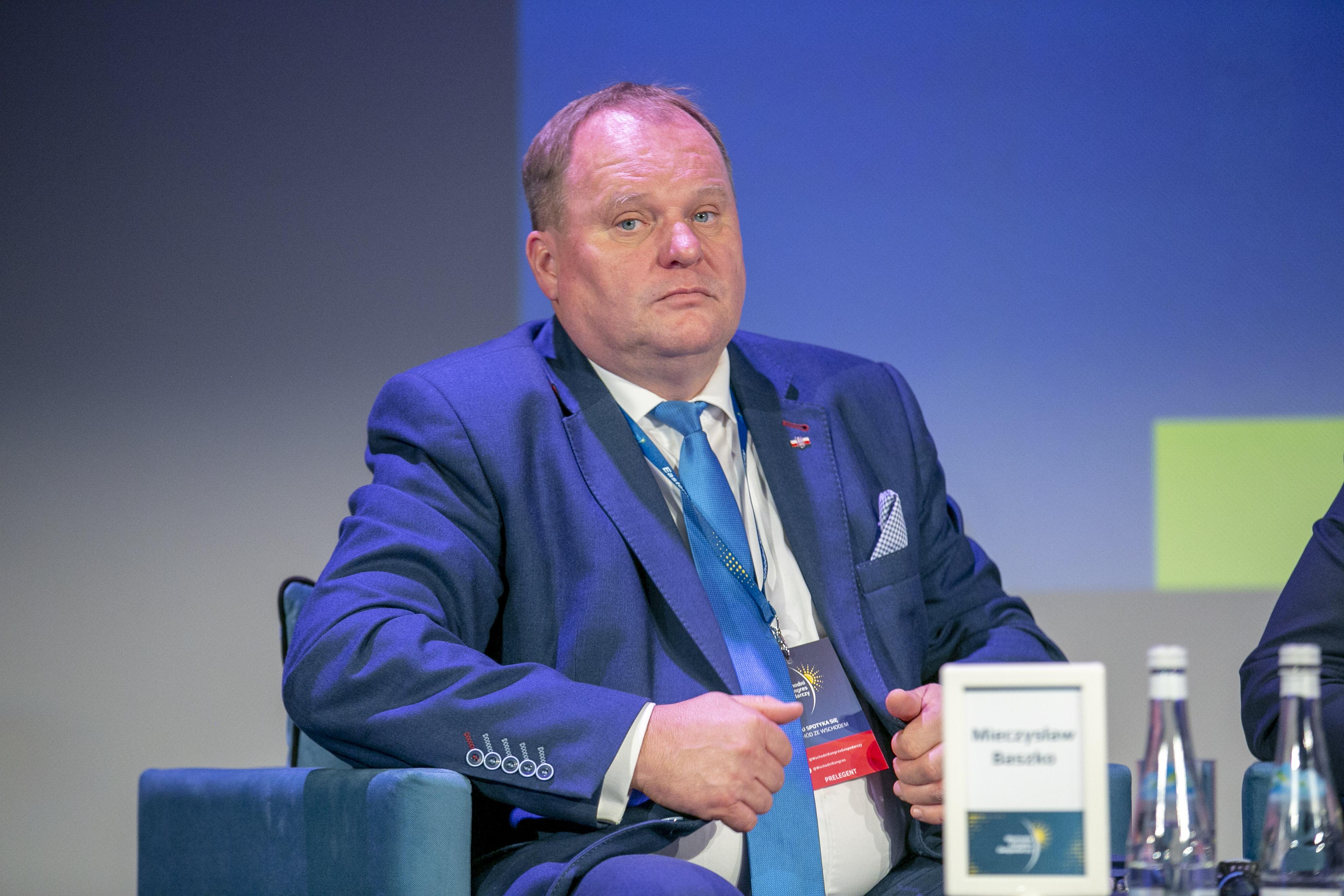 Mieczysław Baszko, poseł RP, współprzewodniczący Polsko-Białoruskiej Grupy Parlamentarnej (fot. PTWP)