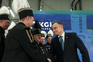 Prezydent: KGHM Polska Miedź prezentuje światowy standard