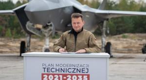 Szef MON: wartość zamówień dla przemysłu zbrojeniowego to 6,8 mld zł