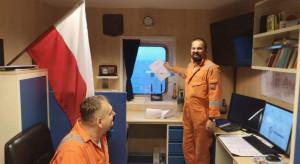 Pracownicy Lotos Petrobaltic głosują na Bałtyku
