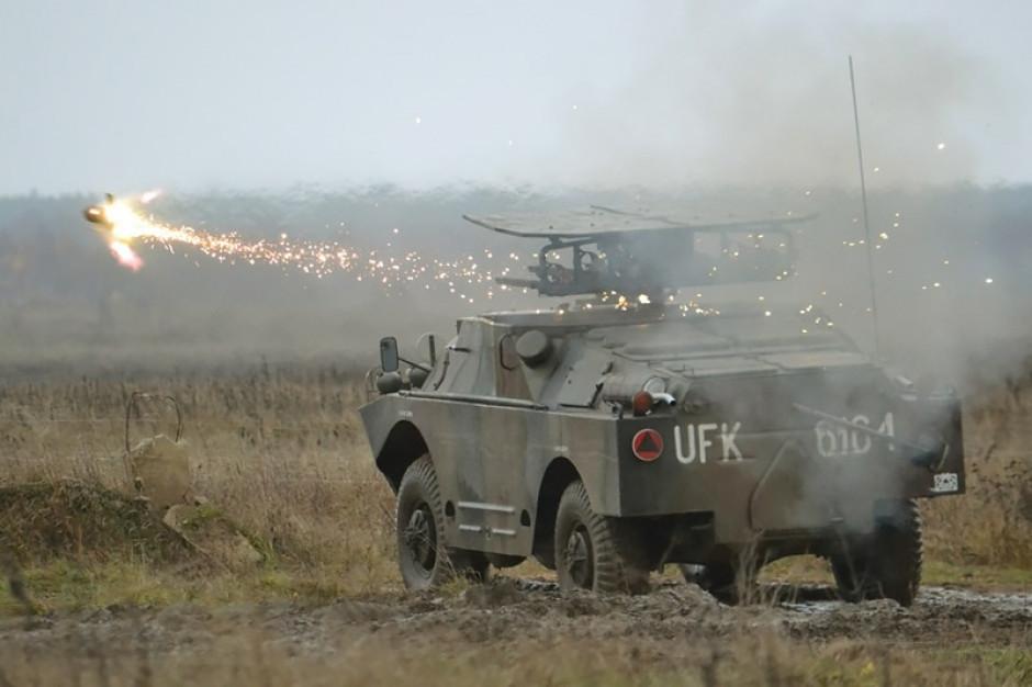 Rolę niszczyciela czołgów pełnią obecnie BRDM-2 z ppk Malutka, fot. mł. chor. Zbigniew Łupiński