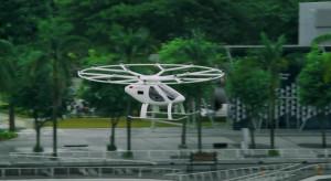 Latająca taksówka firmy Volocopter wykonała próbny lot