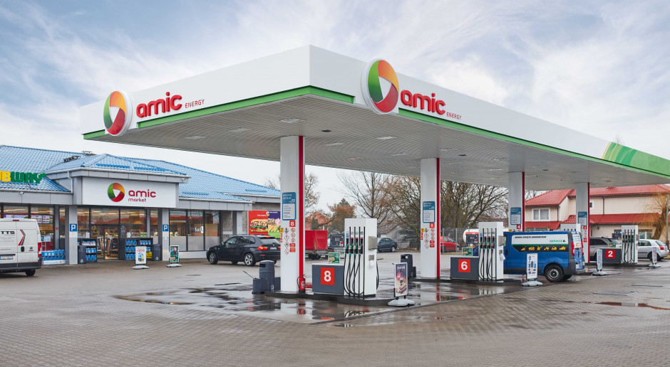 Amic szuka dostawcy LPG i planuje otwarcie kolejnych stacji paliw