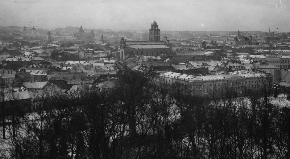 Panorama przedwojennego Wilna, fot. Narodowe Archiwum Cyfrowe
