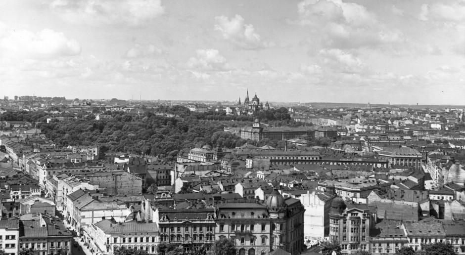 Panorama przedwojennego Lwowa, fot. Narodowe Archiwum Cyfrowe