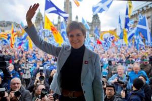 """""""Oddać przyszłość Szkocji w ręce Szkocji"""". Premier wzywa do niepodległości i referendum"""