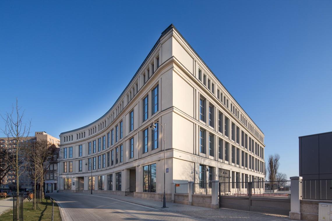 To tutaj, przy ul. Łąkowej w Gdańsku, znajduje się centrala LPP (fot. Allcon Budownictwo)