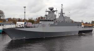 Polskie stocznie mogą budować okręty - dowodem jest patrolowiec ORP Ślązak
