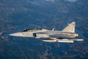 Szwedzki myśliwiec zagłuszy radary
