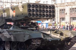 Rosja zademonstruje wkrótce nowy system artylerii rakietowej TOS-2