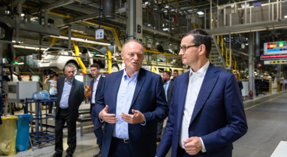 W 2023 r. z gliwickiej fabryki wyjedzie pierwsze elektryczne auto dostawcze