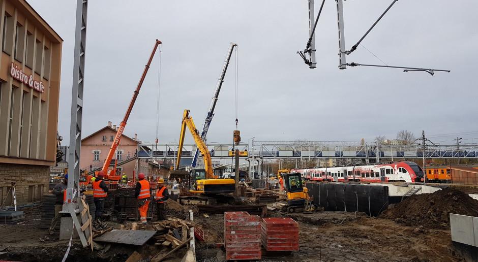 Za 205 mln zł przebudowywany jest dworzec PKP w Rzeszowie
